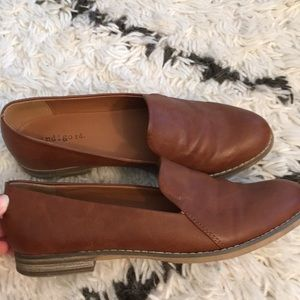 Shoes - Indigo RD brown loafers